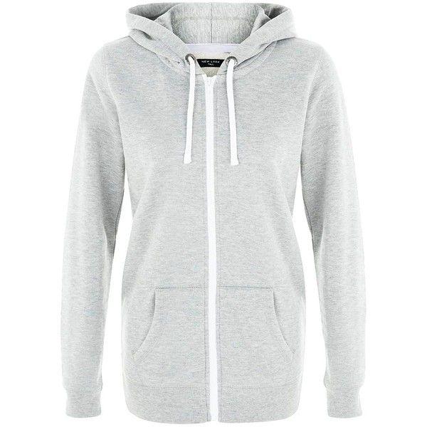 Basic Zip Hooded Sweatshir