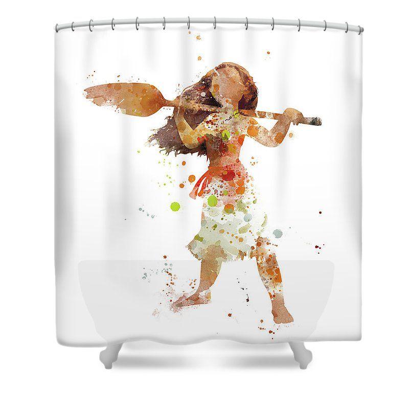 Moana Shower Curtain Shower Curtain Curtains For Sale Bathroom Decor