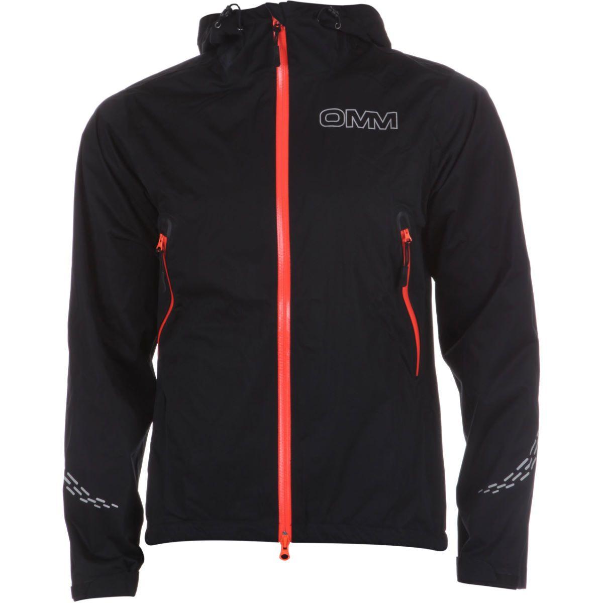 Black OMM Kamleika Mens Running Jacket
