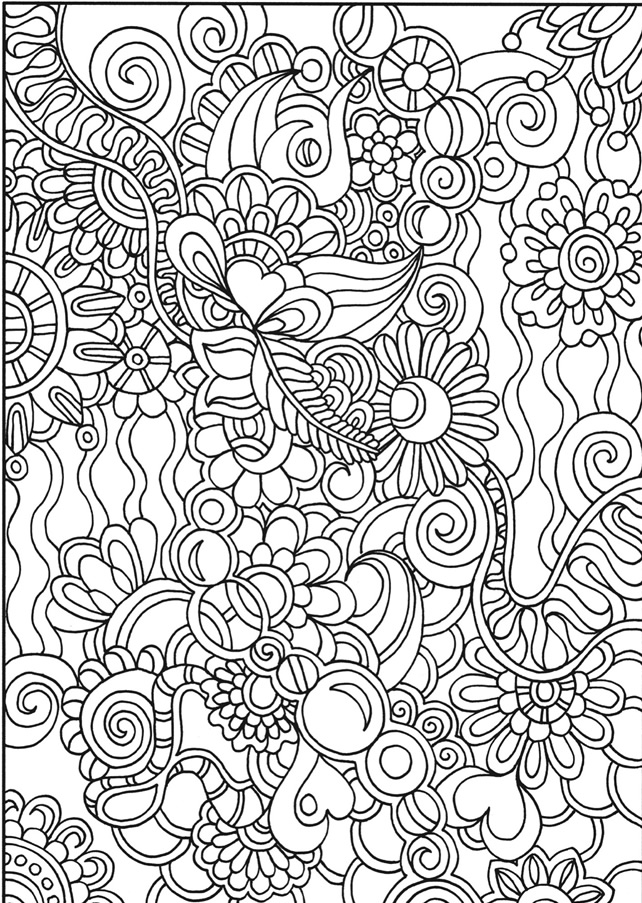 Doodles to Color | adult coloring | Pinterest | Colores, Pintar and ...