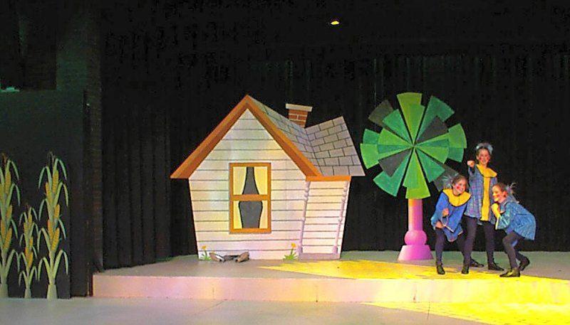Wizard Of Oz Set Design