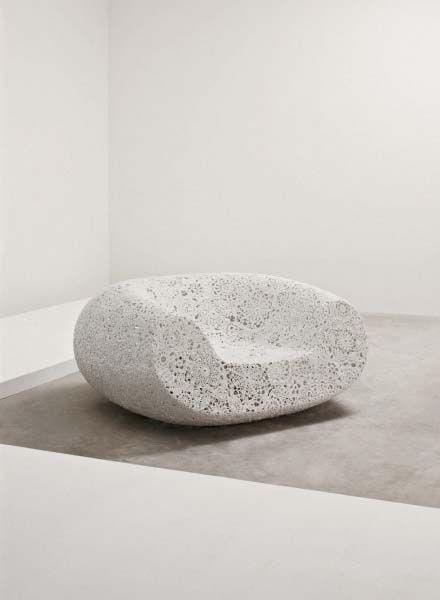 Crochet chair by Marcel Wanders
