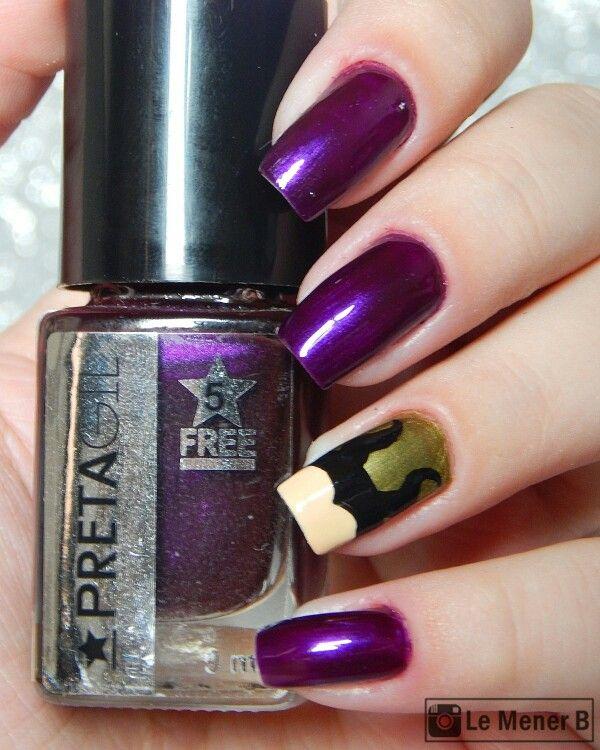 nail #nails #nailart #nailpolish #polish #maleficent #malevola ...