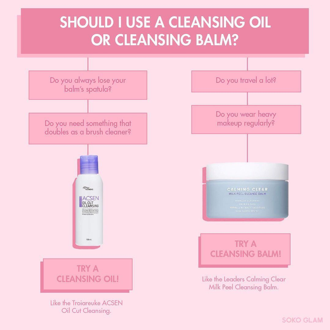 Soko Glam On Instagram Black Friday Sale Continues Don T Know What To Get Take Our Handy Quiz To Figure Out Whet Cleansing Oil Cleansing Balm Skin Care