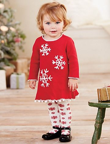 2ecc889fc1c19 Hanna Andersson Christmas. Snowflake Sweater Dress | Baby Seasonal Sale
