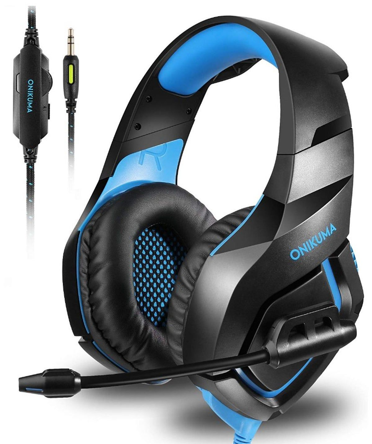 SADES SA810 Wired Headphones Over Ear Headset Noise Cancelling With Microphone