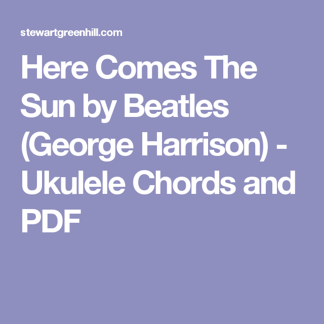 Fancy Guitar Chords Something Beatles Picture Collection - Beginner ...