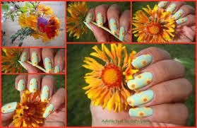 manicure photos flowers - Google Search