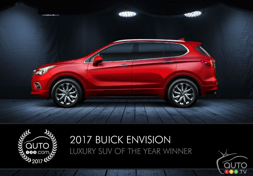 2017 Buick Envision, LaCrosse win awards