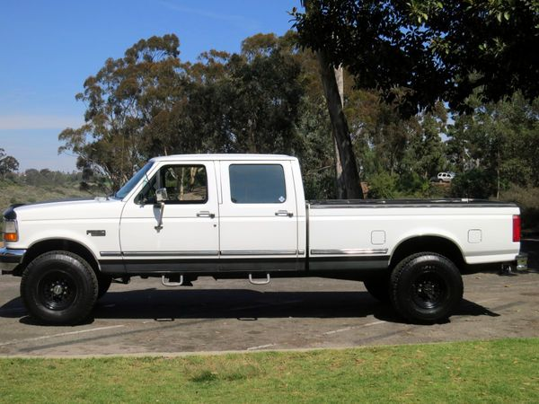 1997 Ford F 350 4 4 Crew Cab Pickup 4 Door 7 3l Diesel Powerstroke Lifted For Sale Lifted Trucks Powerstroke Lifted Cars