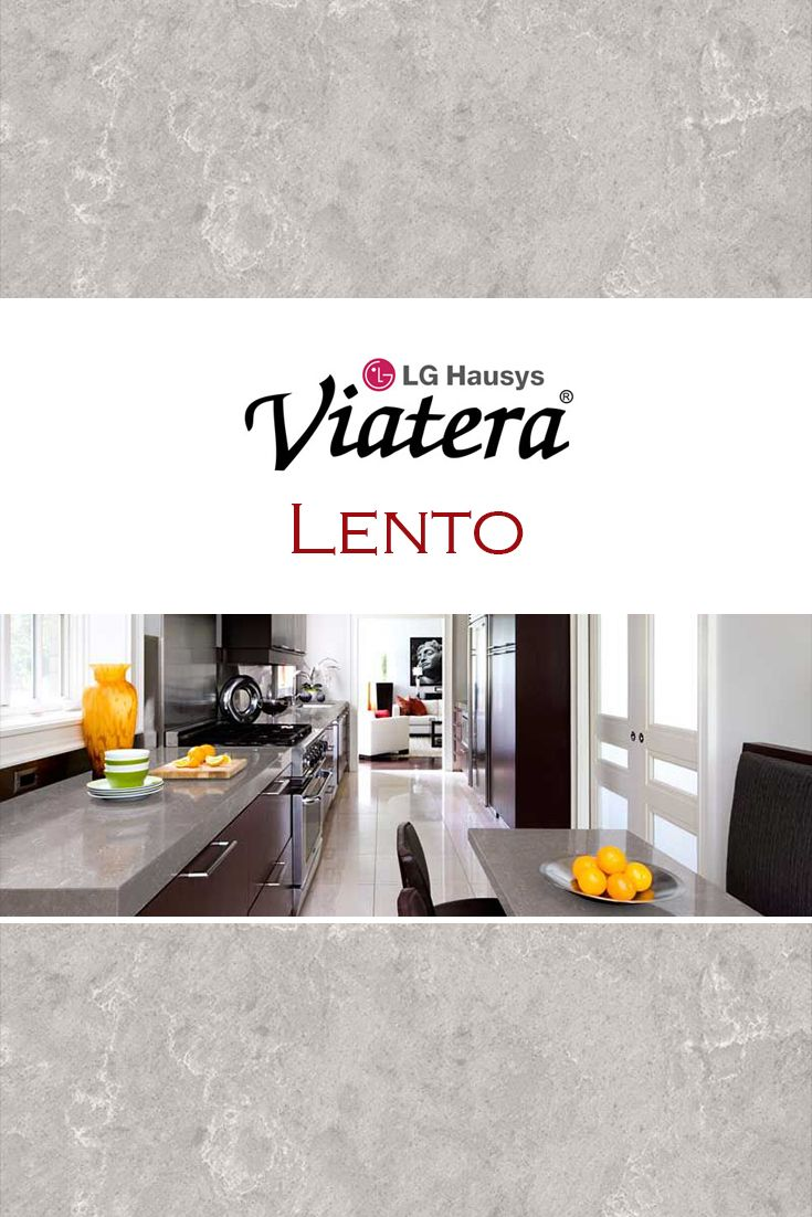 lento by lg viatera is perfect for a kitchen quartz countertop