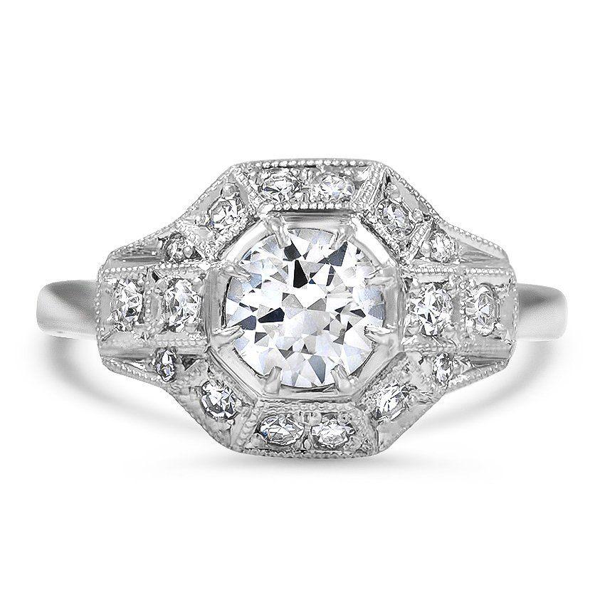 11433ee06 The Delleker Ring | Sparkle & Shine | Rings, Vintage engagement ...