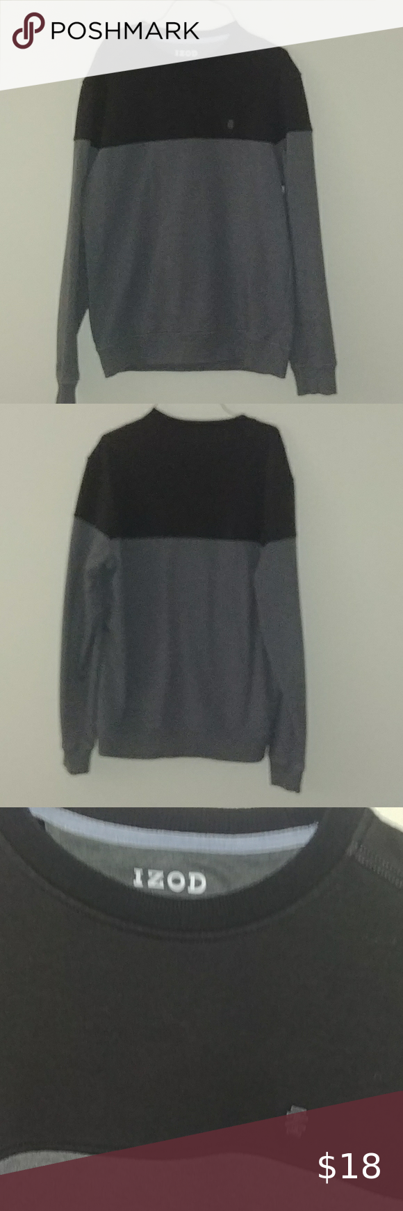 Izod Crewneck S Crewneck Sweatshirt Barely Worn Good Shape Performance Style Izod Sweaters Crewneck Clothes Design Sweaters Crewneck Izod Sweaters [ 1740 x 580 Pixel ]