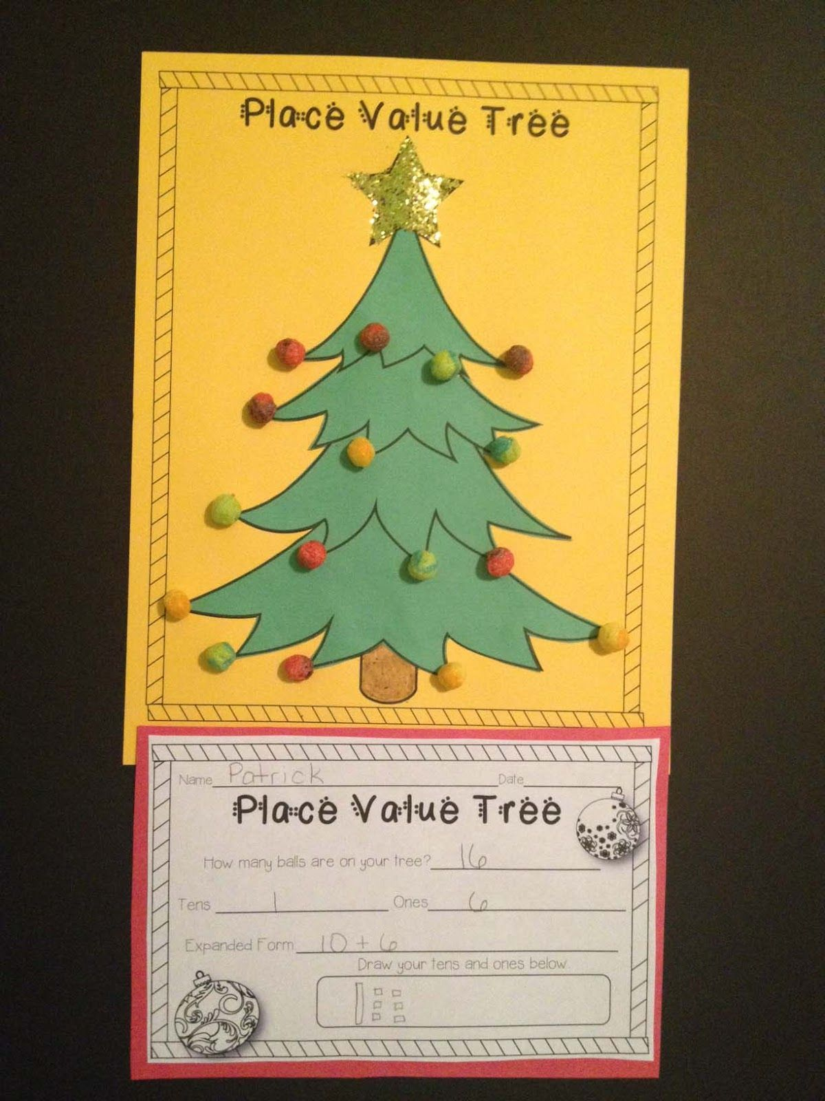 Free Place Value Tree