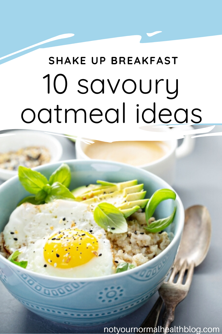 10 Quick and Easy Savoury Oatmeal Ideas