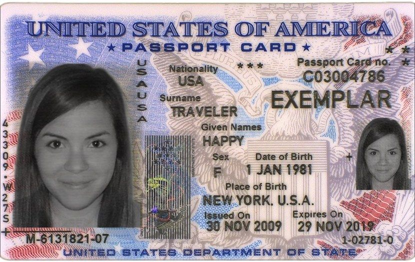 5 Things You Didn T Know About U S Passport Cards Passport Card Passport Online Passport Template