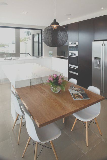 13 Expert Kitchen Extension Table Photos Kitchen Dining Room Combo Kitchen Island Dining Table Contemporary Kitchen Cabinets