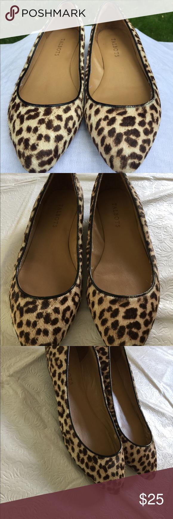 Talbots leopard flats | Clothes design