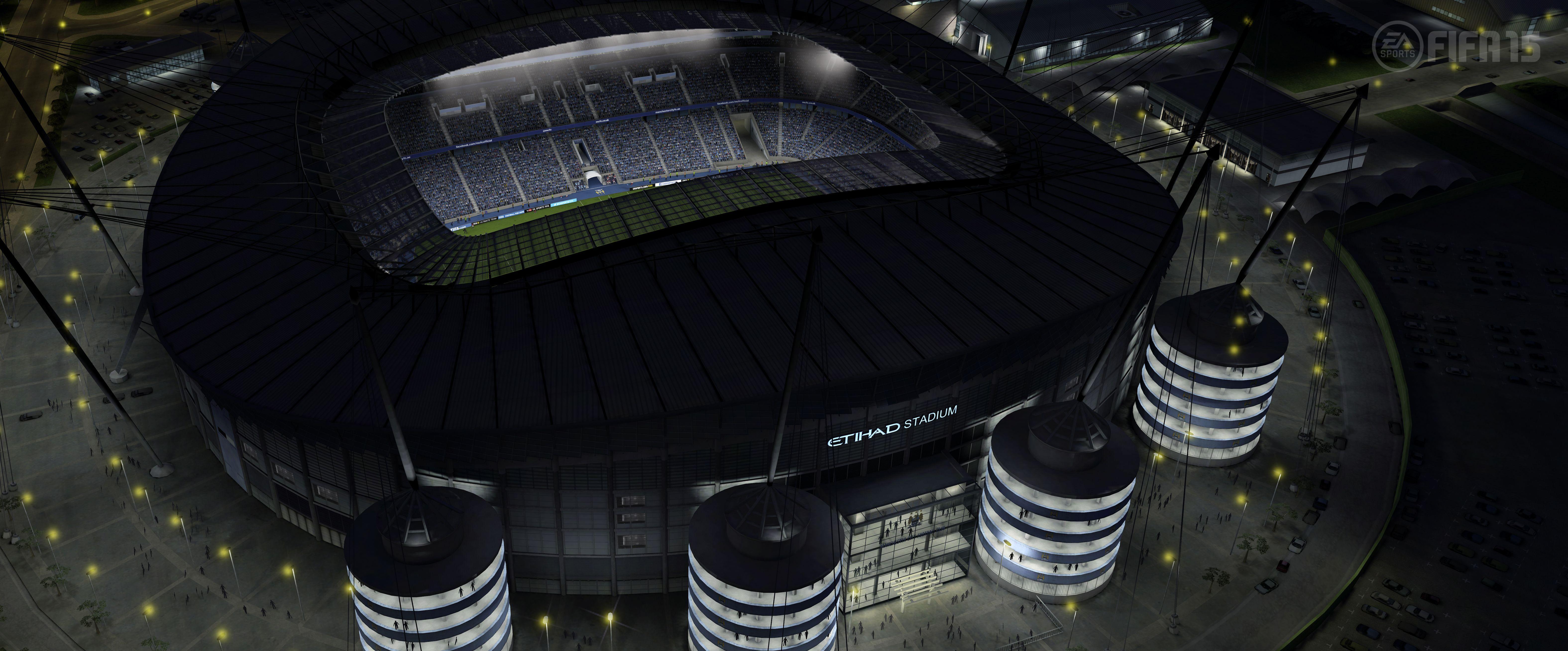 Etihad FIFA 15 by EA Sports English football stadiums