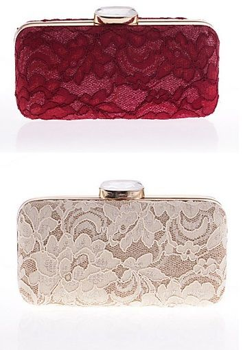 Such an elegant clutch bag, perfect to match it with a lace dress! Repin if you like i!