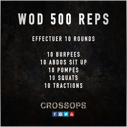 Wod 500 reps