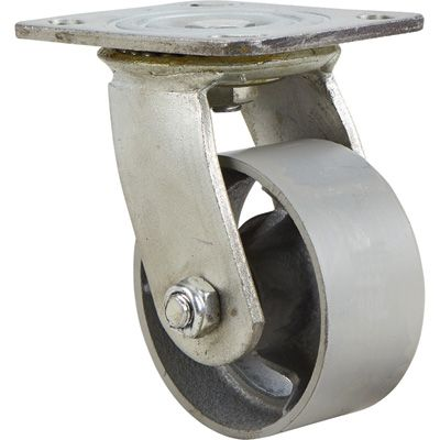 4in Swivel Steel Caster 1000 Lb Capacity