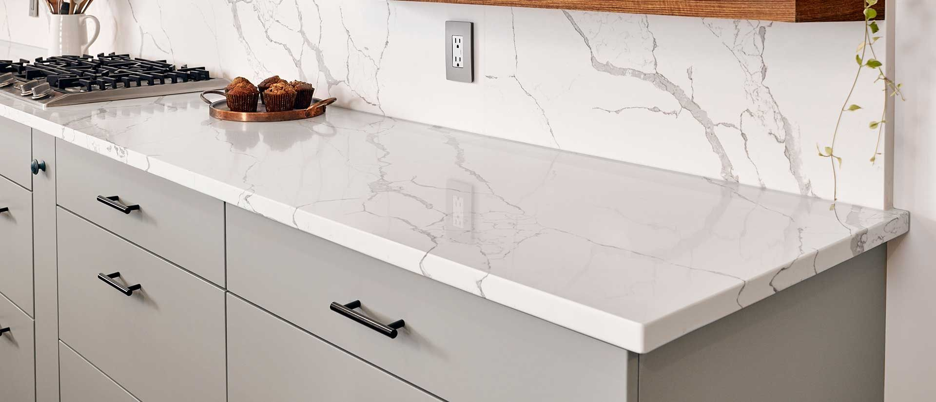 This Calcutta Laza Quartz By Msi Looks Outstanding With Our Re