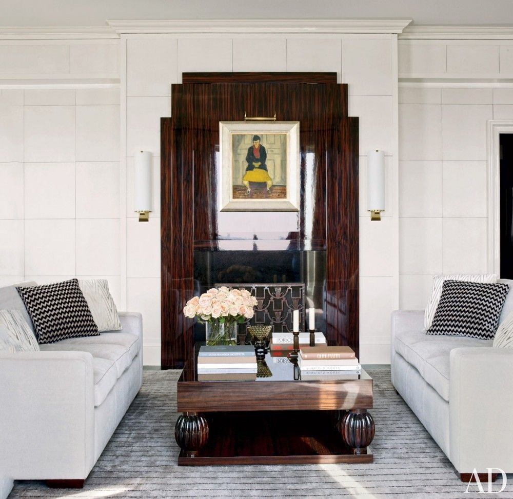 [CasaGiardino] ♛ Modern Living Room by Victoria Hagan Interiors and Peter Pennoyer Architects in New York, NY