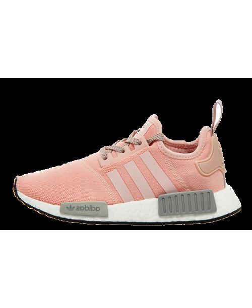 Adidas NMD R1 Pink Grey Women Shoe Online Shop 01 £56.19  6637fc48f76c