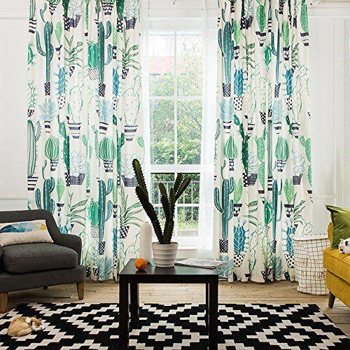 KARUILU home Window Curtain with Succulent Garden (52W x ... https://smile.amazon.com/dp/B01N3BENVH/ref=cm_sw_r_pi_dp_x_0W8HzbW0W6ME2