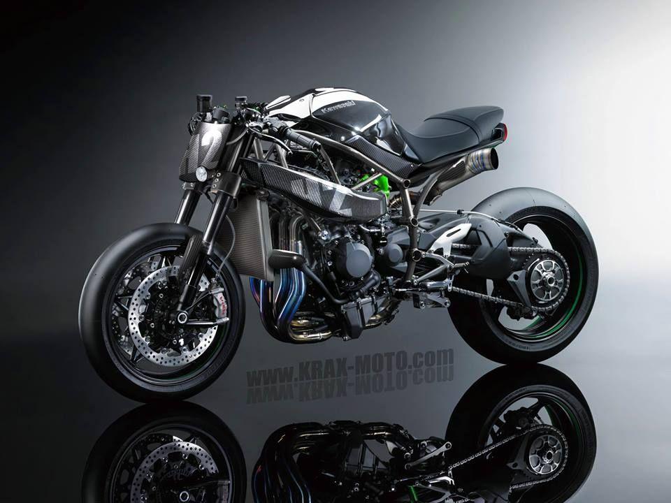 Krax Moto Retro Motorcycle Kawasaki Motorbikes Motorcycle Culture