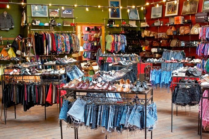 Blitz London Consignment Store Displays Store Layout Thrifting