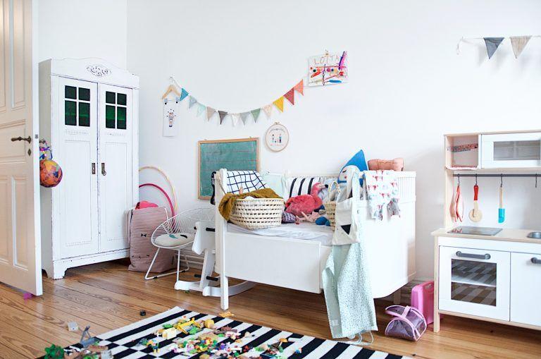 Ein kunterbuntes Kinderzimmer mit Ecken für alle Kinder