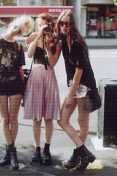 grunge street fashion - Google Search