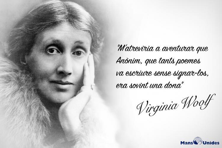 Imagen Con Frase De Reflexión De Virgina Woolf Frases