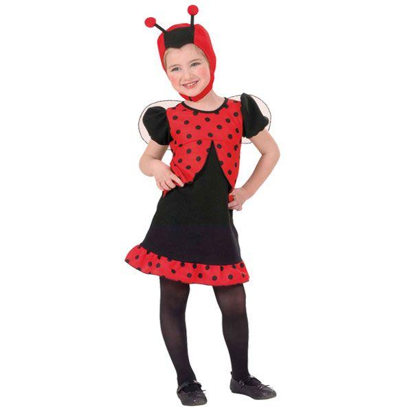 Children's Dotty Ladybug costume 3-4yrs £14.99