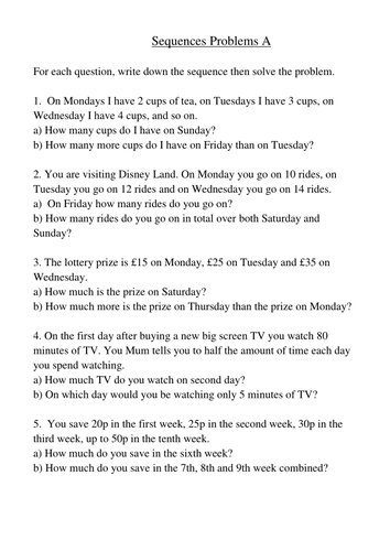 Pattern Worksheets Pattern Worksheets High School Number Pattern