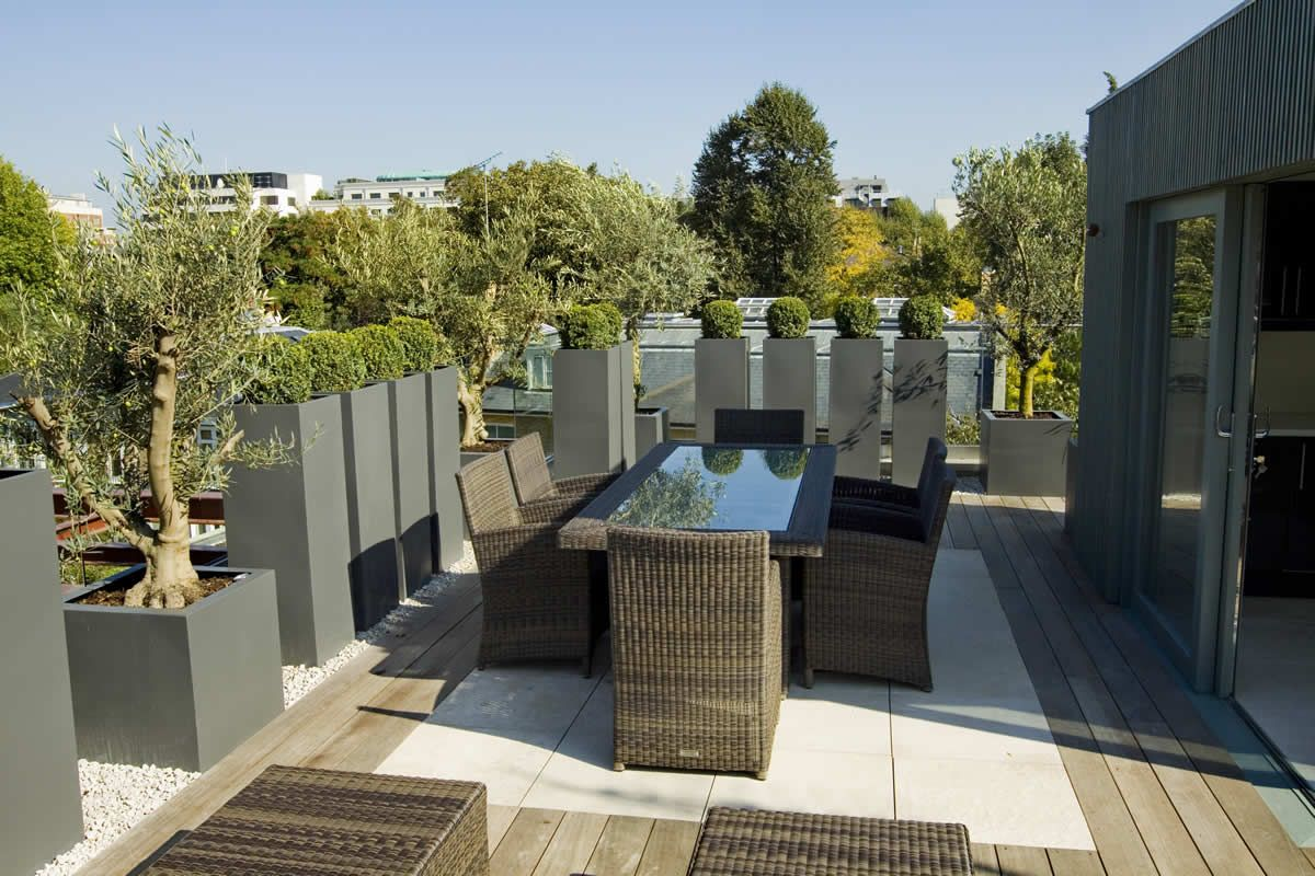 London Roof Gardens Google Search Roof Terrace Design Terrace Design Terrace Garden