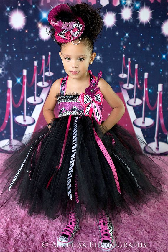 Rockstar Tutu Dress Party Birthday