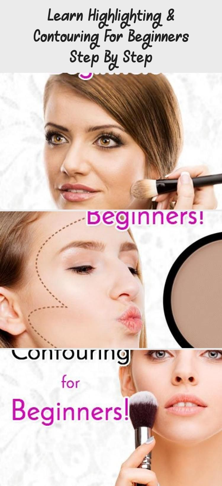 Photo of Learn Highlighting & Contouring For Beginners Step By Step… – Eye Makeup –  Hi…