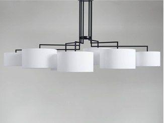Fabric chandelier NOON 7 - ZEITRAUM