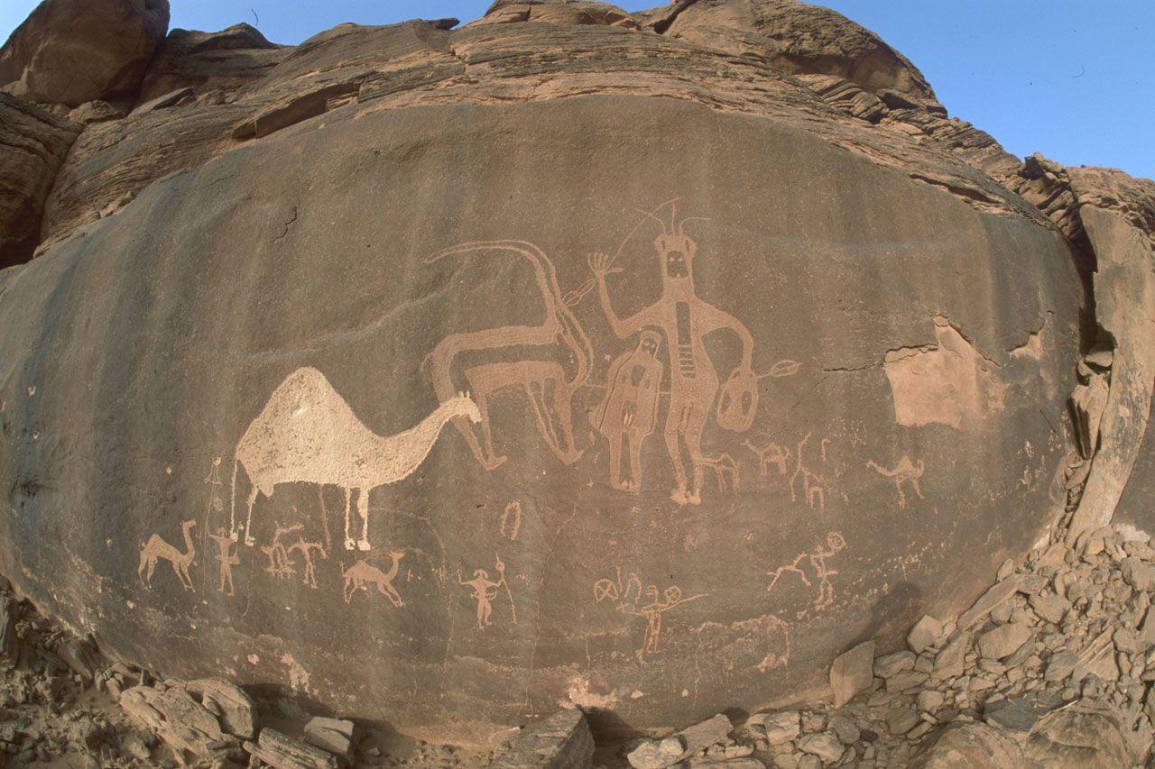 Saudi Arabia Rock Art And Rocks On Pinterest