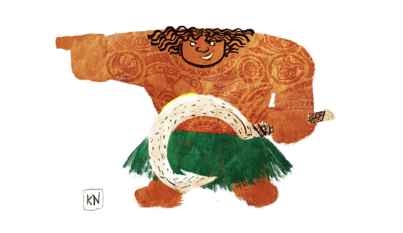 I still can't stop thinking about the movie Moana.... - Curiouser Kat Draws