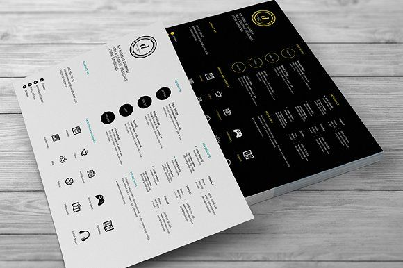 Creative Resumes by celcius design on @creativemarket Resumes - creative resumes