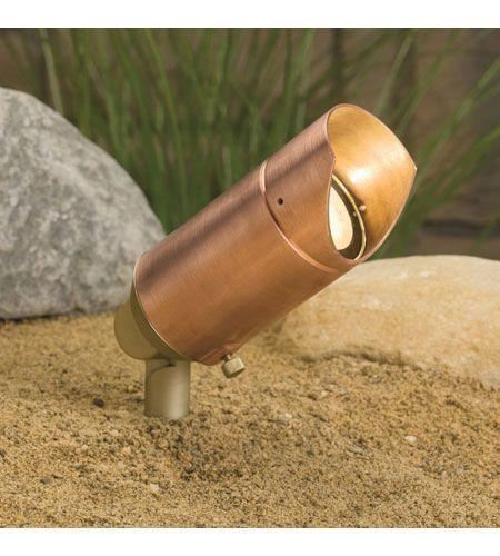 Kichler 15384co Copper 12v 35 00 Watt Copper Landscape 12v Accent In Single Kichler Lighting Landscape Lighting Kichler