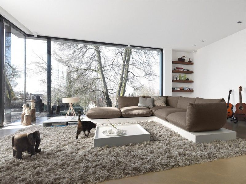 50 idées de salon design inspirées par les maisons de luxe ...