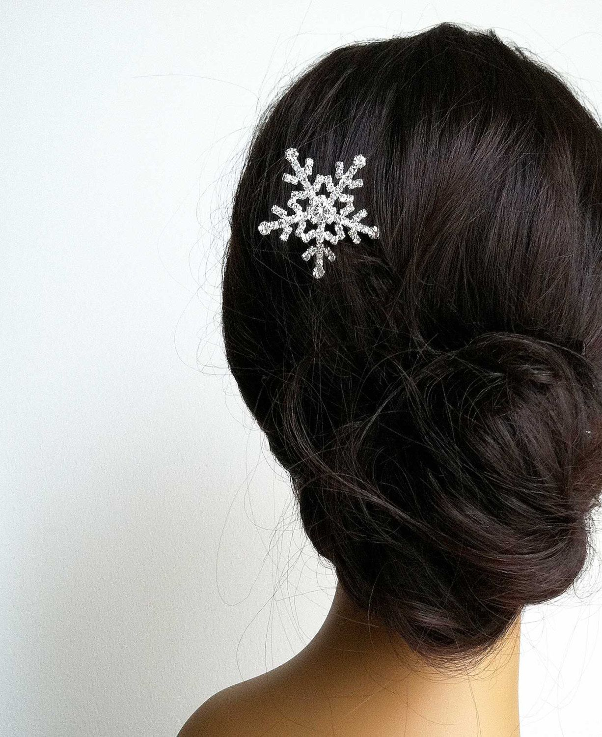 christmas wedding, christmas gift, winter hair accessory