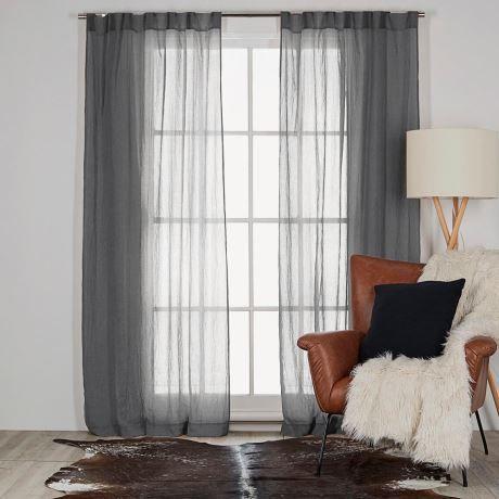 ANGUS 140x230cm lightfilter tab top curtain