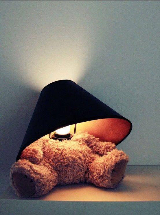 Teddy Bear Lamp Lamp Cool Gadgets Worst Idea Ever