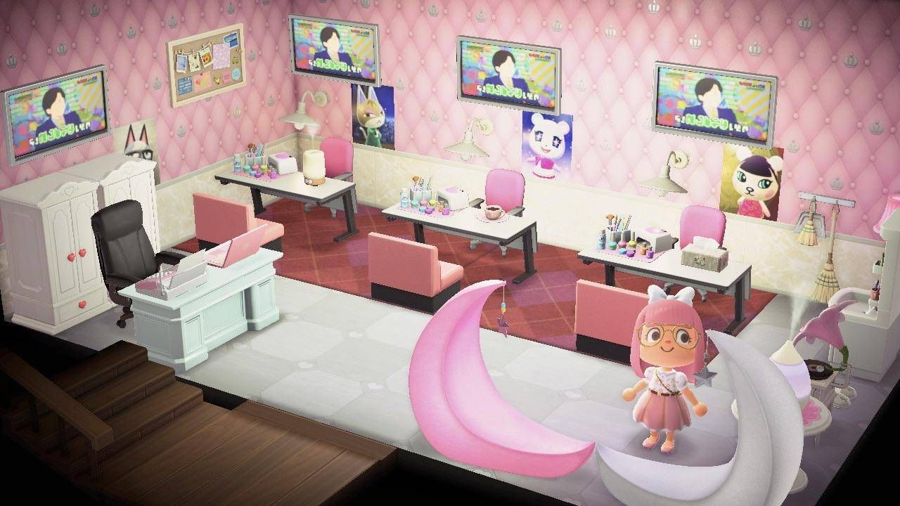 20 Ideas For Your Animal Crossing New Horizons House In 2020 Animal Crossing Room Themes Sports Room